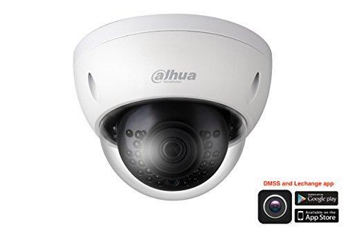 Dahua IPC-HDBW1531E Telecamera mini-dome IP 5Mpx HD+ 2.8mm PoE Onvif