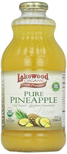 Lakewood, Organic Pure Pineapple Juice, 32 oz