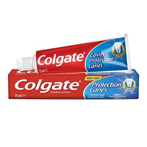 Colgate Protección Caries Pasta de dientes, Flúor Activo y