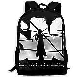 Hdadwy Mochila impermeable para computadora portátil, mochila al aire libre, mochila para computadora para estudiantes, mochilas escolares Sword Art Online College School, mochila de negocios, mochila