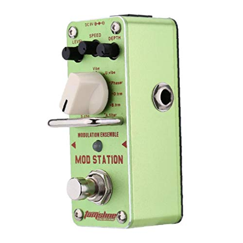 AMS-3 Mod Station Modulation Ensemble Electric Guitar Effect Pedal Mini Single Effect with True Bypass