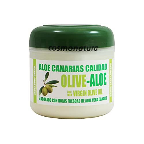 Aloe Canarias Crema Hidratante Cara y Cuerpo con Aceite de O