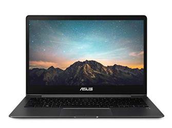 "ASUS ZenBook 13 Ultra-Slim Laptop 13.3"" FHD WideView Touch, 8th Gen Intel Core i5-8265U Processor, GeForce MX150, 8GB LPDDR3, 256GB SSD, Backlit KB, Fingerprint, Windows 10 - UX331FN-DH51T, Slate Grey"