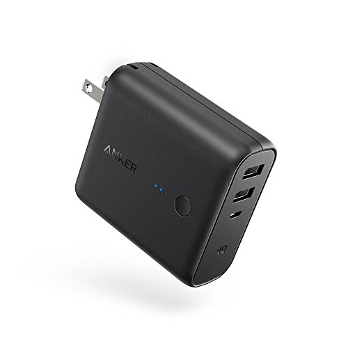 Anker PowerCore Fusion 5000 (5000mAh モバイルバッテリー搭載 USB急速充電器) 【PSE認証済/PowerIQ搭載/...