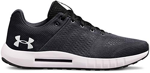 Under Armour Women's Micro G Pursuit Running Shoe, Anthracite (100)/Black, 7.5