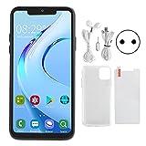 Nuobi Teléfono Inteligente Android Negro, Teléfono Inteligente con Pantalla Bang de 6.5 Pulgadas,...