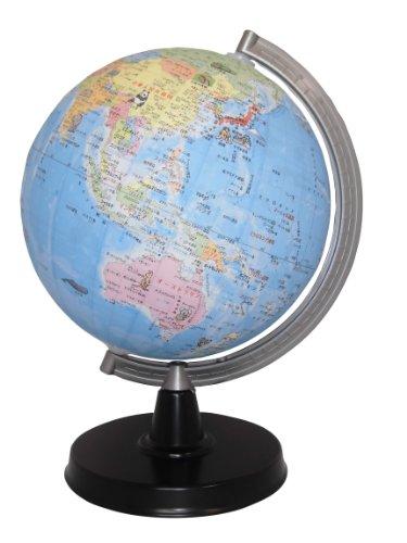 昭和カートン 地球儀 21-EK 行政図 絵入りタイプ 球径21cm