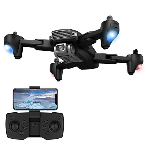 ZHAO Nuovo 5G WiFi 3KM FPV GPS con Telecamera HD 6K HD 2 Axis Brushless Pieghevole Pieghevole RC Drone Pieghevole Pieghevole Pieghevole Pieghevole Pieghevole Aerial Vehicle (Colore : AS Shown)