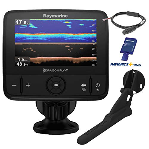 Raymarine e70320-ceur Dragonfly 7Pro Sonar/GPS (17,8cm (7pollici), DVS Chirp Down Vision, CPT integrata, European Essentials scheda)