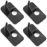 Magic&shell Arrow Rest 4PCS Plastic Archery Arrow Rest with Adhesive for Recurve Bow Hunting Archery Right Hand`