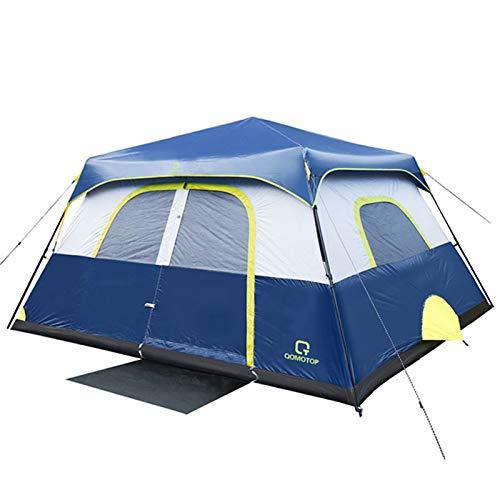 OT QOMOTOP Tents, 4 Person 60 Seconds Set Up Camping Tent,...