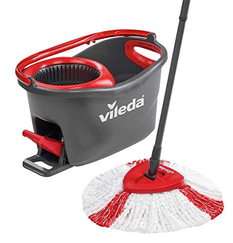 Vileda Turbo EasyWring and Clean Komplettbox Wischmopp Set