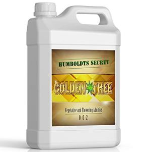 Golden Tree: Best Plant Food For Plants & Trees - Yield Increaser - Plant Rescuer - Excelurator - All-In-One Concentrated Organic Additive - Vegetables, Flowers, Fruits, Lawns, Roses, Tomatoes & More