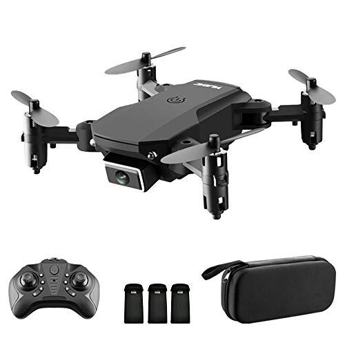 Goolsky S66 Drone RC con Telecamera 4K Drone Dual Camera Posizionamento del Flusso Ottico WiFi FPV Drone modalit Senza Testa Altitudine Hold Gesto Foto Video Traccia Volo 3D Filp RC Qudcopter Borsa