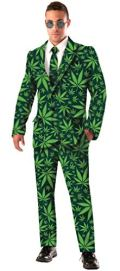 Forum Novelties Men's Joint Venture Suit Cannabis Costume
