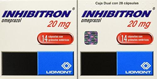 Inhibitron Cápsulas Dual, 20 mg, 14 Unidades
