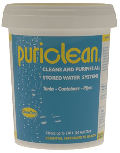 Clean Tabs 040569 Puri Water Cleaner and Purifier-Blue, 400 g