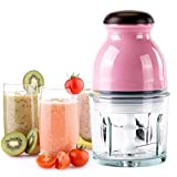 Saysha Electric One Touch Mini Food Processor Blenders Mixers Grinder Chopper Capsule Cutter