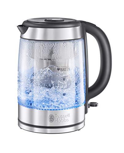 Russell Hobbs Brita Purity 20760-10 - Hervidor de agua con filtro con cartucho Brita Maxtra+ incluido, 3000 W, 1,5 litros