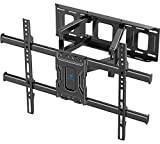 TV Wall Mount Full Motion Bracket for Most 37-75 Inch LED LCD OLED 4K Flat Curved TV Swivel Dual...