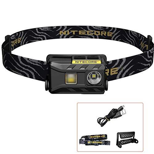 NITECORE NU25 - Linterna Frontal LED Recargable - USB Triple...