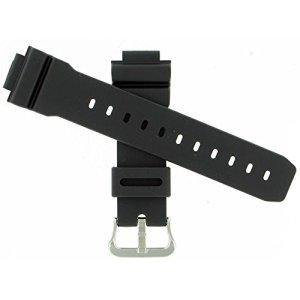 Casio 71606395 Black rubber Watch band 16mm(26mm)