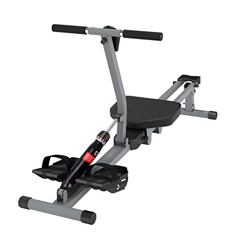 soges Rowing Machine Indoor Rower Exercise Machine with Digital Monitor for Home Gyms Fitness and Cardio Training Black YKTH-PM-B