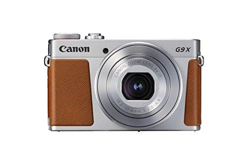 Canon PowerShot G9 X Mark II Fotocamera, 20.1 Megapixel, 1' CMOS 5472 x 3648 Pixel, Marrone/Argento