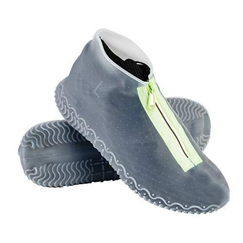 Couvre-chaussures imperméable avec fermeture éclair,Convient aux Jours...