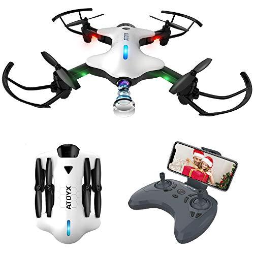 ATOYX Drone Plegable, Drone con Cámara para Principiantes y Niños,...