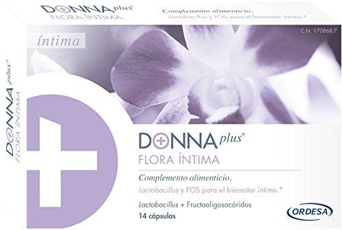 DONNAplus Flora Intima Complemento Alimenticio - 14 Cápsulas