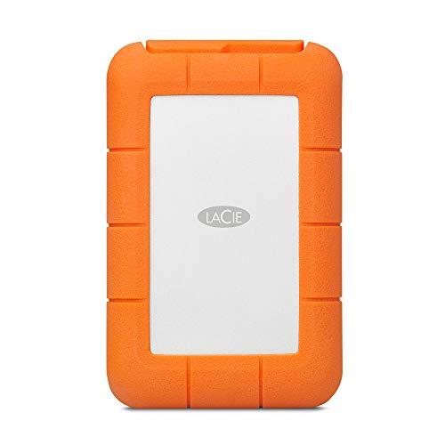 LaCie Rugged RAID Pro, 4TB, Disco duro HDD portátil, compatible con USB...