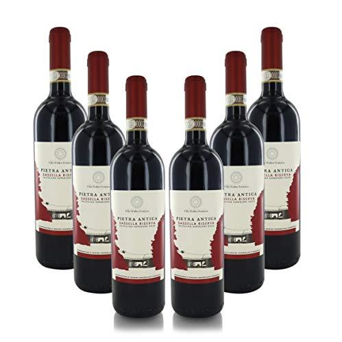 Vino Rosso ''Pietra Antica'', Sassella Riserva Valtellina Superiore DOCG, Annata 2016, Cartone con 6 Bottiglie da 75 Cl L'Una