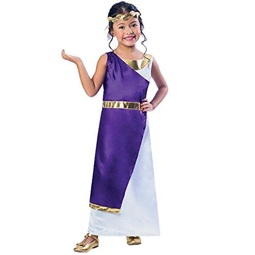 Disfraz de niña griega romana 9-10 años