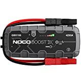 NOCO Boost X GBX155 4250A 12V UltraSafe Portable Lithium Jump Starter, Car Battery Booster Pack, USB-C Powerbank Charger, And Jumper Cables For Up To 10.0-Liter Gas And 8.0-Liter Diesel Engines