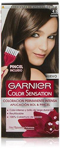 Garnier Color Sensation - Tinte Permanente Castaño Luminoso