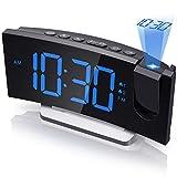 Mpow Projection Alarm Clock, Radio Digital...