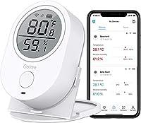 デジタル温湿度計 WiFi温度計 湿度計 Govee LCD大画面 アプリコントロール グラフ記録とデータ輸出機能付き 置掛兼用 高精度 温湿度異常アラーム機能付き ワイヤレス 室内用