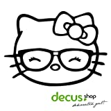 Decus Autocollant Hello Kitty Geek Girl