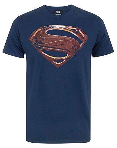 JUSTICE LEAGUE Superman Logo Men's T-Shirt