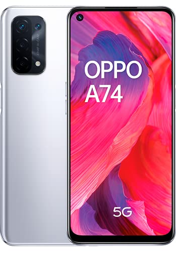 OPPO A74 5G - Pantalla 6,49' (FHD+ 90Hz, 6 GB RAM+ 128 GB...
