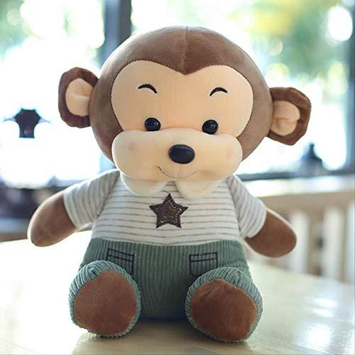Gecfun Bambola Scimmietta Soft Down in Cotone Hip-Hop Monkey Plus Giocattoli Ragazza Bambola 35 Cm...