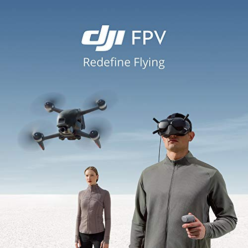Product Image 2: DJI FPV Combo - First-Person View Drone UAV Quadcopter with 4K Camera, S Flight Mode, Super-Wide 150° FOV, HD Low-Latency Transmission, Emergency Brake and Hover, Gray