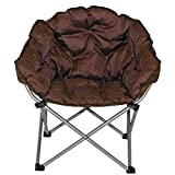 XL Outdoor Club Chair in Chestnut Brown