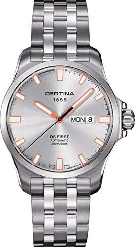 Certina DS First C014.407.11.031.01 Herren Automatikuhr Klassisch schlicht