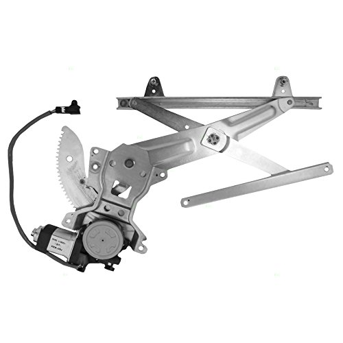 Power Window Lift Regulator with Motor Assembly Passenger Rear Replacement for 97-01 Toyota Camry Sedan 69803AA010