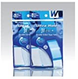 Walker Ultra Hold Mini Tab, Double Sided Tape, 72 tabs/pack, 2PK