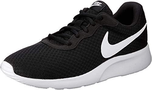 Nike Tanjun, Zapatillas de Correr Hombre, Negro (Black/White), 40.5 EU