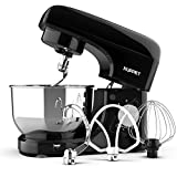 Kuppet Stand Mixers, 8-Speed Tilt-Head Electric Food Stand Mixer with Dough Hook, Wire Whip &...
