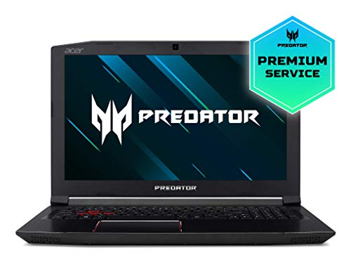"Acer Predator Helios 300 PH315-51-50Y7 - Ordenador portátil de 15.6"" Full HD (Intel Core i5-8300H, 8 GB RAM, 1TB HDD, 128GB SSD, Nvidia GeForce GTX1060, Linux) Negro - Teclado QWERTY Español"